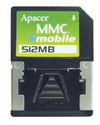 Apacer+introduces+digital+still+camera+use+MMC+mobile+memory+card