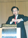 TSMC CEO Rick Tsai delivered a speech at a recent event