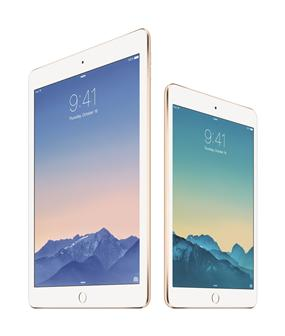 Apple iPad Air 2, iPad mini 3