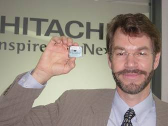 Larry Swezey, Deputy General Manager, Mobile HDD BU of Hitachi GST