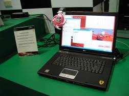 Acer Ferrari 4000, with AMD Turion 64