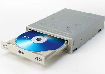 The LG GBW-H10N Blu-ray Disc burner