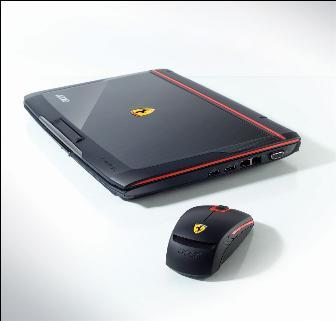 Acer Ferrari 1000-series notebook
