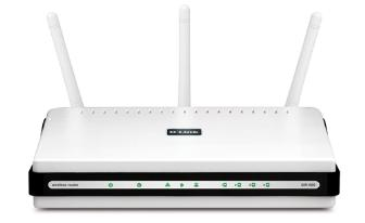 The D-Link Xtreme N Gigabit DIR-655 wireless network router