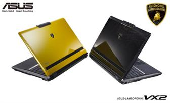 Asustek's next-generation Lamborghini VX2 notebook