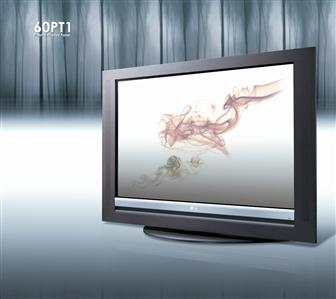 LG's wooden Plasma TV