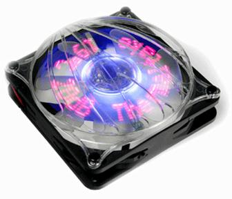 The Thermaltake Cyclo 12cm Logo fan