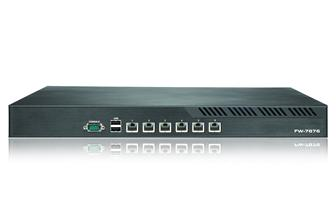 Lanner FW-7876 network security appliance