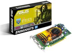 Asus EN8600GTS Nvidia GeForce 8600GTS-based graphics card