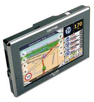 Mio C520 in-car GPS device