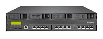 Lanner Electronics FW-8890, a 2U rackmount appliance for enterprise-grade network applications.