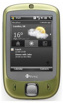 The HTC Touch