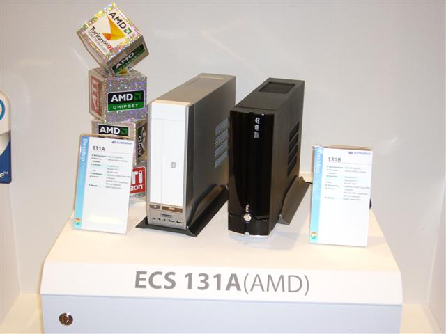 ECS shows off DTX-based small form factor systems