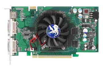 The Biostart V8603TS51 graphics card
