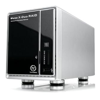 The Thermaltake Muse X-Duo RAID network storage device