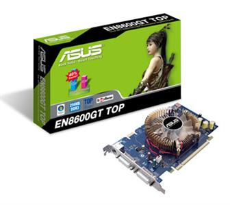 Asustek EN8600GT TOP graphics card
