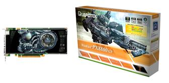Leadtek PX8800 GT graphics card