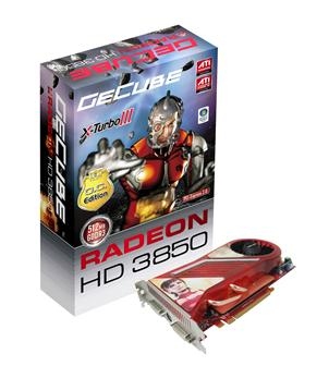 GeCube GC-HD3850PG3-D3 graphics card