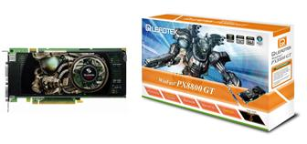 Leadtek WinFast PX8800 GT 256MB graphics card