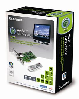 Leadtek WinFast PxDTV2300 H TV capture card