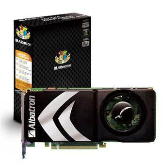 Albatron 8800GTS-512X graphics card