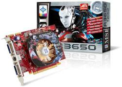 MSI R3650 graphics card