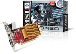 MSI R3450 graphics card