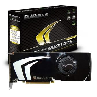 Albatron 9800GTX-512X graphics card