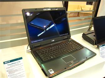 Acer TravelMate 5730 based on Centrino 2 platform
