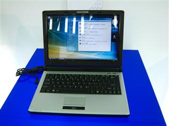 ECS 12.1-inch S21II notebook based on Centrino 2 platform