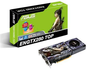 Asustek ENGTX280 TOP/HTDP/1G graphics card