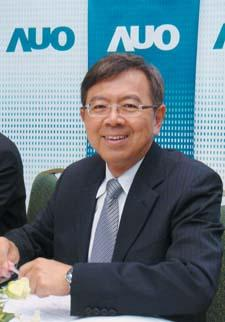 AUO CEO HB Chen