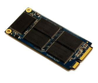 Super Talent mini PCI-Express card for Eee PC