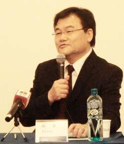 Hui Hsiung, president of Qisda