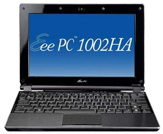 Asustek Eee PC 1002HA netbook