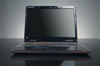 Gateway P-series FX notebook