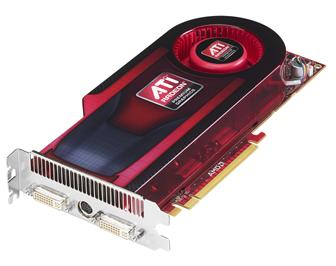 AMD ATI Radeon HD 4890 graphics card