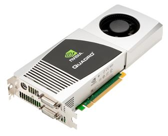 Nvidia Quadro FX 4800 graphics card for Apple's Mac PC