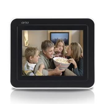 Ablecom touchscreen digital photo frame, the HR-401T
