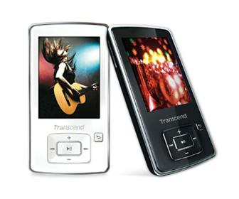 Transcend MP860 digital music player