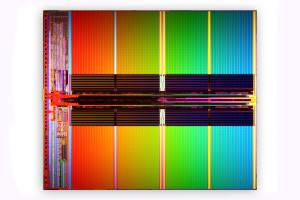 Intel-Micron 3-bit-per-cell NAND flash fabricated on 34nm prcess technology