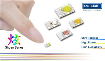Everlight introduce new high-power LED - the Shuen series