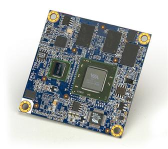 VIA EPIS-T700 Mobile-ITX motherboard
