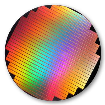 25nm NAND fash wafer