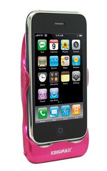 Kingmax iPhone Power Case - pink