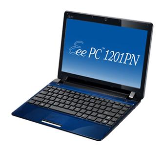 New Ion-based Asustek 1201PN netbook