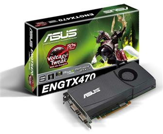 Asustek ENGTX470/2DI/1280MD5 graphics card