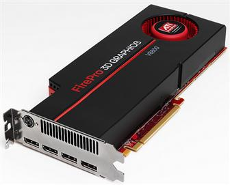 AMD ATI FirePro V8800 graphics card