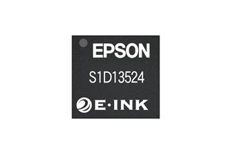 Color EPD controller of Seiko Epson and E-Ink - S1D13524