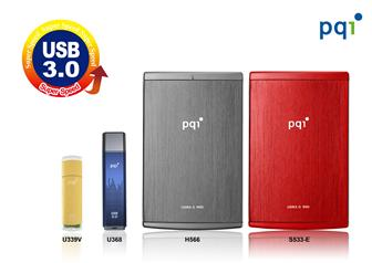 PQI USB 3.0 storage devices